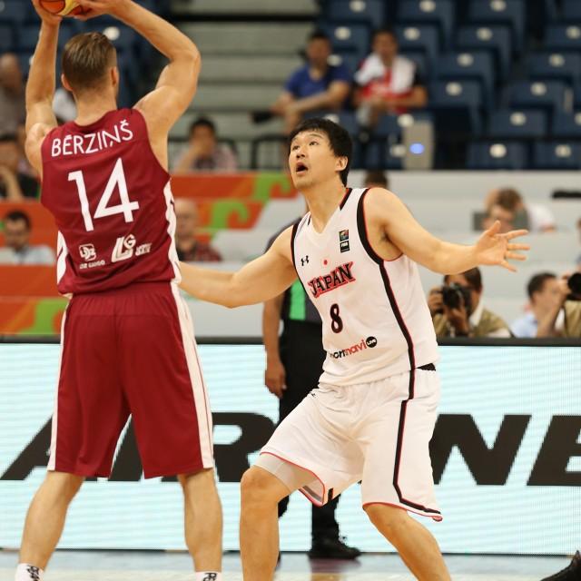 身体を張って守る#8 太田 敦也選手